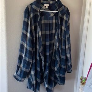 Style & co, Flannel Cardigan